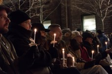 Vigil for victims of serial killer