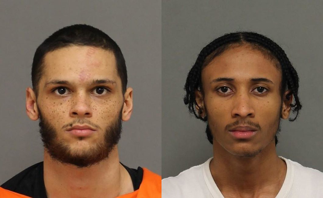 Tyrel McLean, 18, (left) and Dante Thaxter, 18, (right).