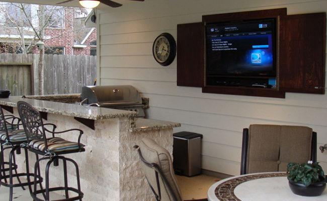 outdoor tv audio