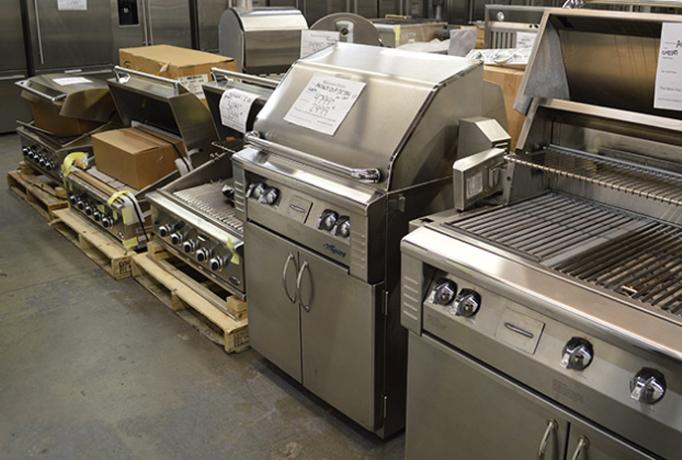 Discount Outdoor Kitchen Appliances