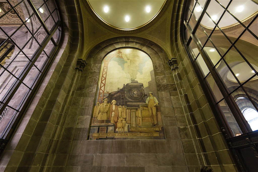 Commerce Court North Mural