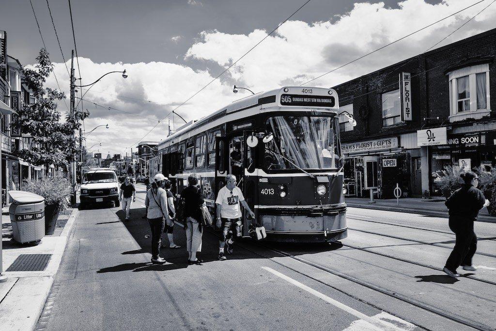 DuWest TTC Streetcar
