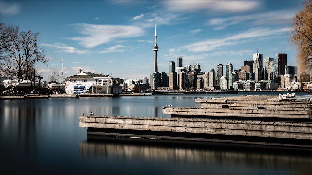 Toronto Skyline at Royal Canadian Yacht Club
