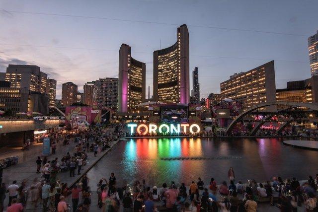 Toronto Sign during 2015 Pan Am Games