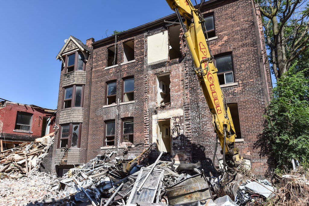 Toronto's Garden District Demoltion