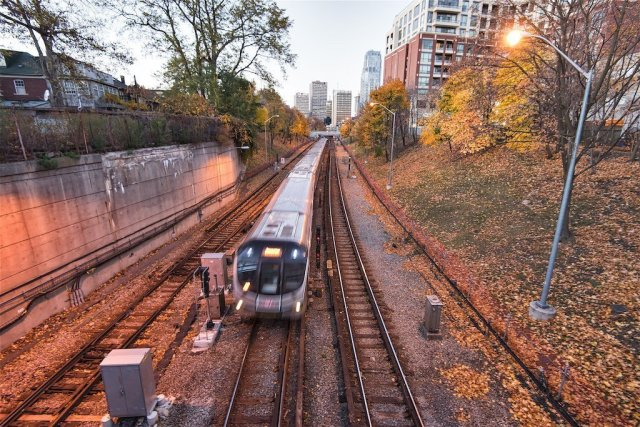 TTC subway; photo by Bruce Christie 2019