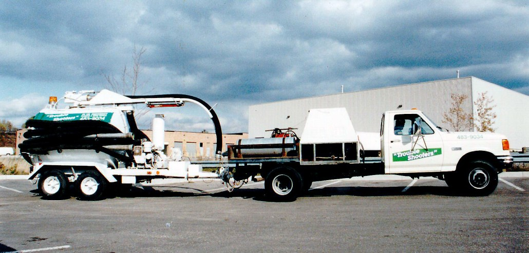 Trouble Shooters commercial hydro jetting truck