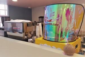 StyleNanda Pink Pool Cafe Seoul Cute Cafe Theme Cafe Review StyleNanda Pink Hotel Pink Pool Cafe Myeongdong Seoul Korea Best Theme Cafe Toronto Seoulcialite Cotton Candy