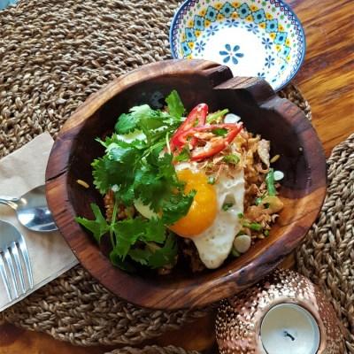 Nasi Goreng Chicken Bali in Mangwon Restaurant Balinese Food Seoul Hongdae Toronto Seoulcialite
