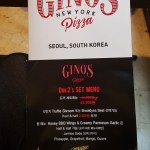 Delivery Korea Gino's Pizza Gangnam Apgujeong Seoul Food Toronto Seoulcialite Menu Review