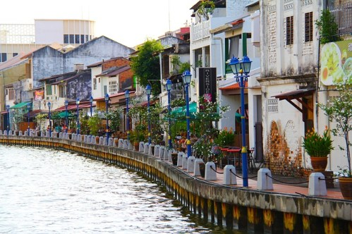 Malacca Melaka Malaysia Memories River Malacca Straight