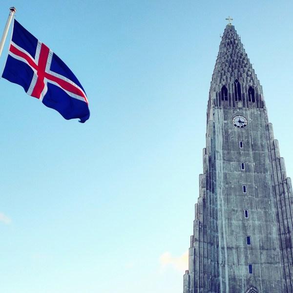 Church, Flag, Iceland, Reykjavik, Hallgrimskirkja, Reykjavik Church, Iconic Iceland, Review