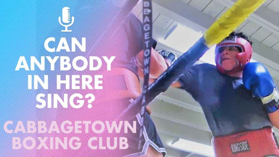 What is it about Boxers and Singing?  Steve & Alexandra visit Cabbagetown Boxing Club.