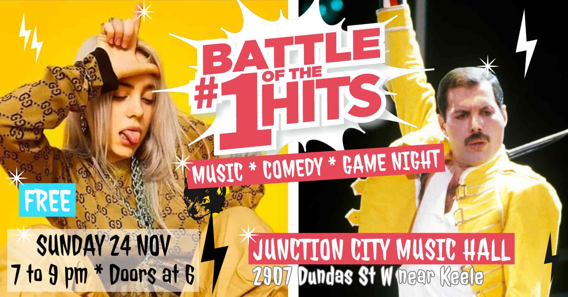 Battle of the #1 Hits at Junction City Music Hall: New Hit Songs Vs Old Hits