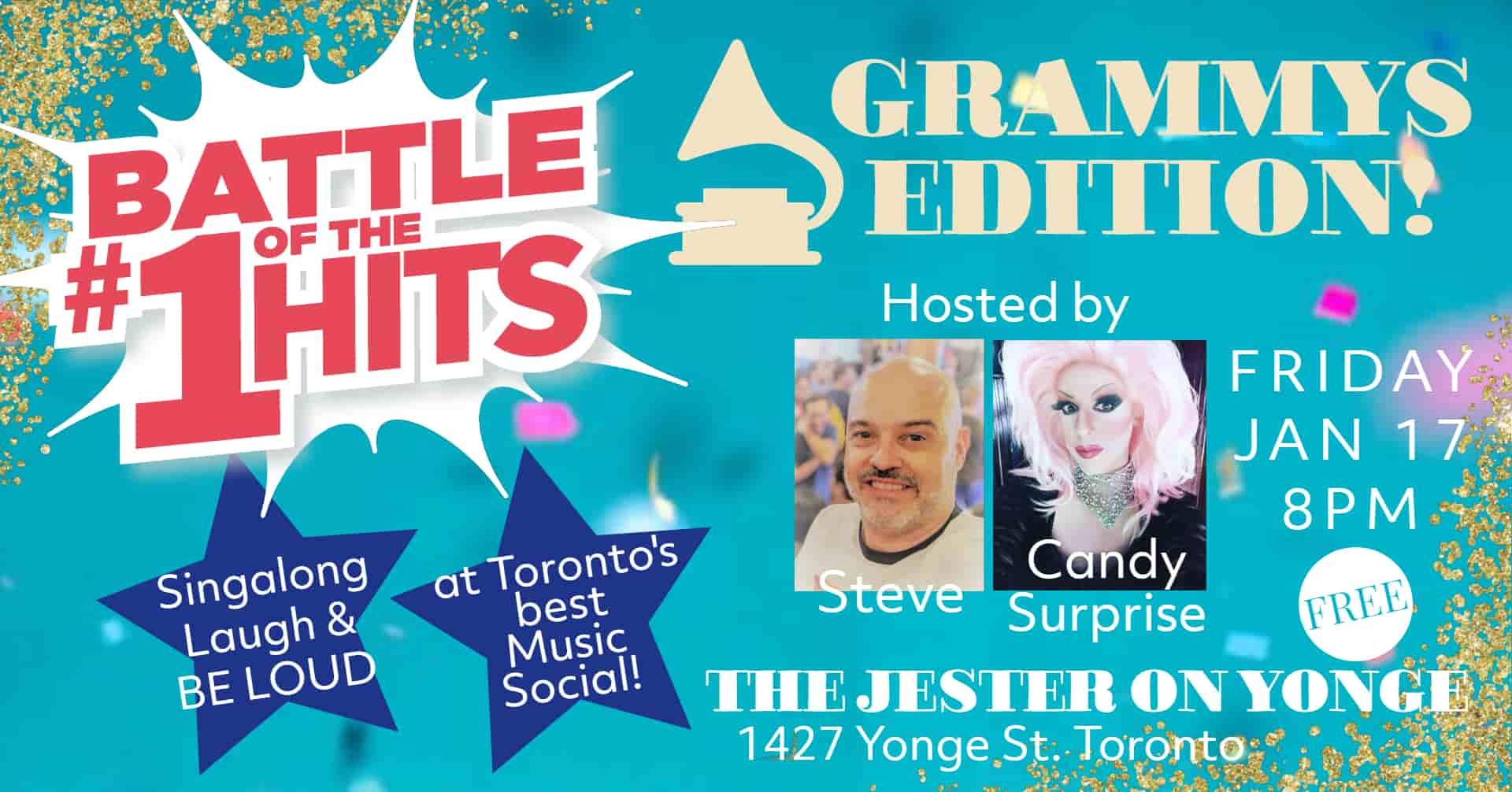 Battle of the #1 Hits Grammys Edition, Live at the Jester on Yonge in Toronto