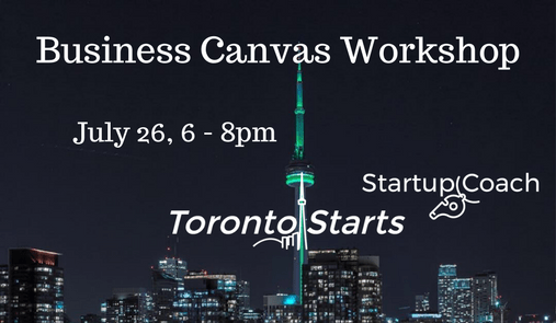 Business Canvas Workshop with The Startup Coach