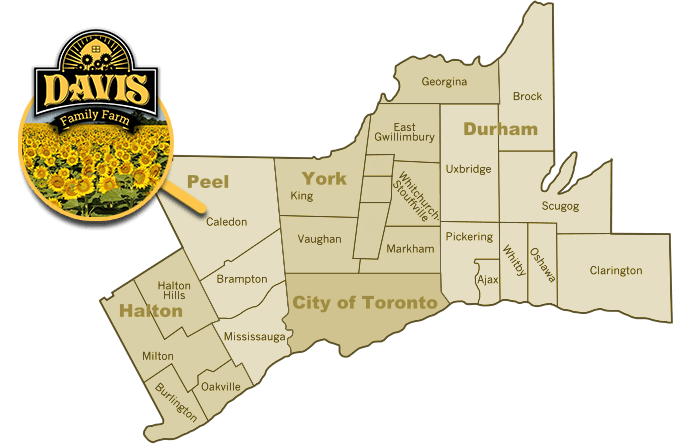 Davis Family Farm map