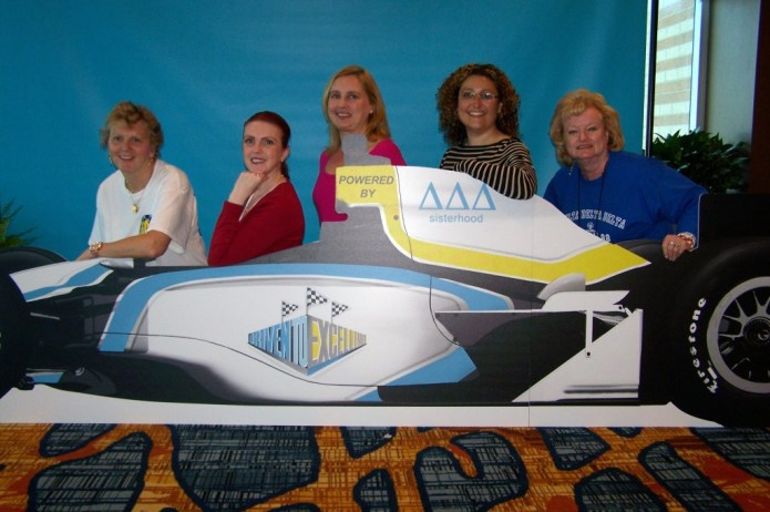 Michelle Mercer, Carly Klassen, Carrie Illsley, Liz Melo and Betty-Faye LeRiche at Convention 2014