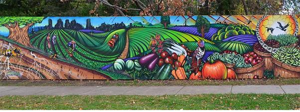 Image result for black creek community farm mural