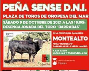TOROS ORPESA 9 OCTUBRE 2021