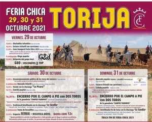 TOROS TORIJA 29 A 31 OCTUBRE 2021