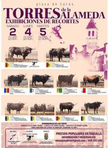 TOROS TORRES DE LA ALAMEDA 2, 4 Y 5 OCTUBRE 2021