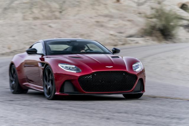 An Aston Martin DBS Superleggera