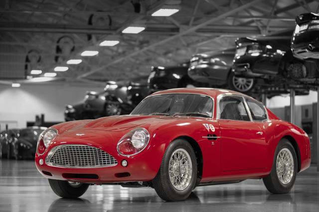 An Aston Martin DB4 GT Zagato