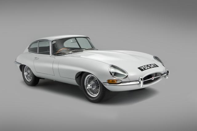 A Series 1 Jaguar E-Type S1
