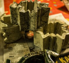 raku glasur krakelering keramikk