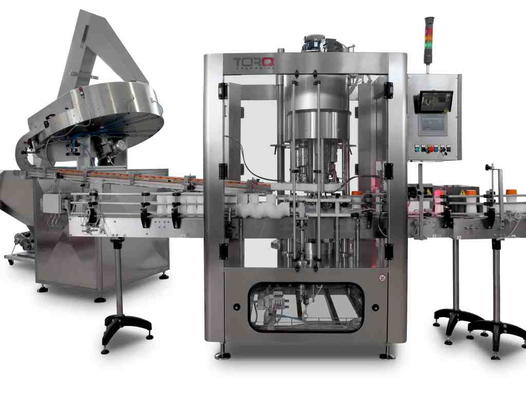 Sorter and Capper for Capping Machines