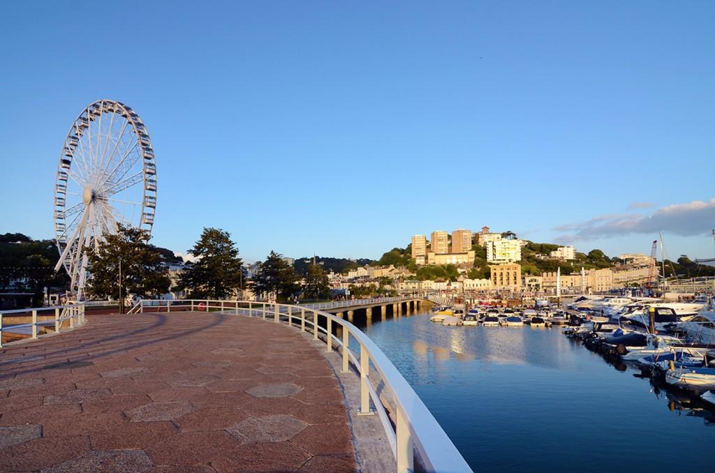Big wheel torquay harbour