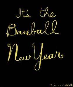 Baseball New Year