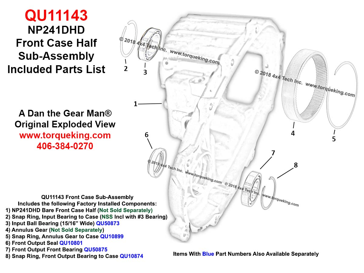 hight resolution of click here for qu11143 included parts exploded view