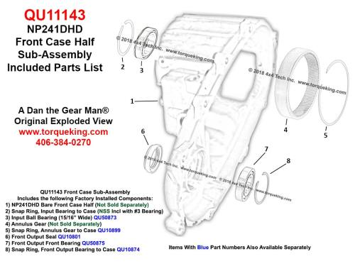 small resolution of click here for qu11143 included parts exploded view