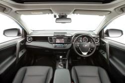 2015 Toyota RAV4 Cruiser (black interior shown)