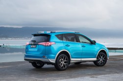 Toyota expands RAV4's safety and style (RAV4 GXL with Advanced Safety Pack and dual tone shown).