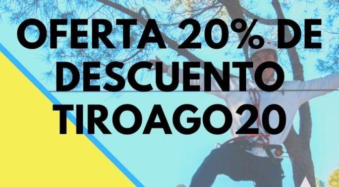 OFERTA 20% EN TIENDA ONLINE TIROAGO20