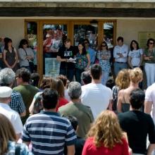 Concentración en la Plaza del Ayuntamiento de Torrelodones 3-6-2012 (Foto: juanangelTC.com)