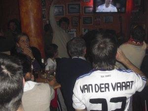Uno, que no era del Barça pero festejaba sus goles...