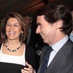 Aznar y Gádor Ongil en una distendida charla