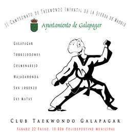 Campeonato Taekwondo de Galapagar
