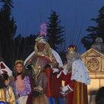Sus Majestades, los Reyes Magos de Alcampo