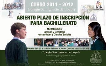 Se abre la inscripción para el bachillerato en el San Ignacio de Torrelodones