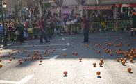 Carnaval 2011 Torrelodones, Rodada de naranjas
