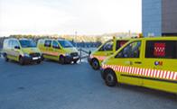 Cuatro nuevas ambulancias en Torrelodones