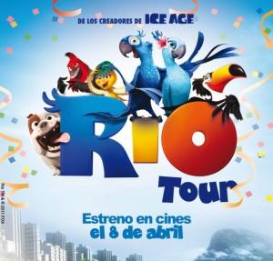 Actividades en el CC Espacio Torrelodones promoción Río Tour