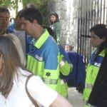 Medicos de Torrelodones y personal del SUMMA 112