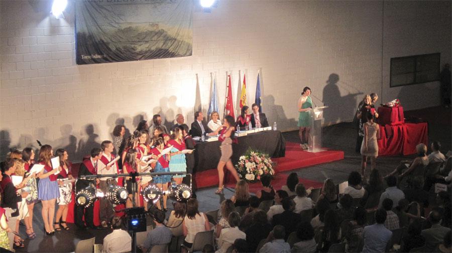 Acto de Graduación de la XXIII Promoción del IES Diego Velázquez de Torrelodones