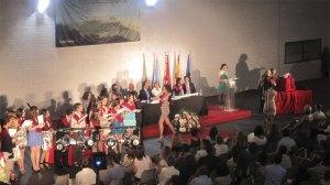 Graduación de los alumnos de 2º de Bachillerato del IES Diego Velázquez (Foto de Archivo)
